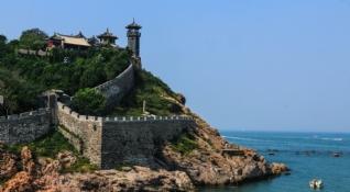 山东蓬莱古城风景壁纸