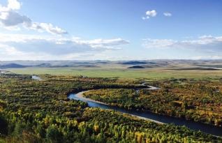 内蒙古额尔古纳湿地风景壁纸